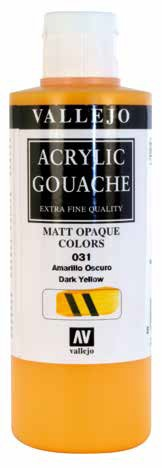 Vallejo Acrylic Gouache 200ml