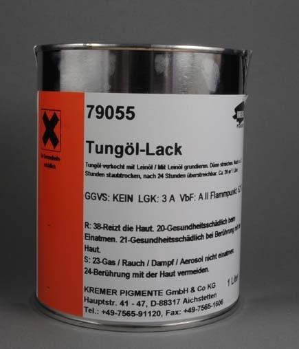 Kremer Tungöl Lack (79055) 1L
