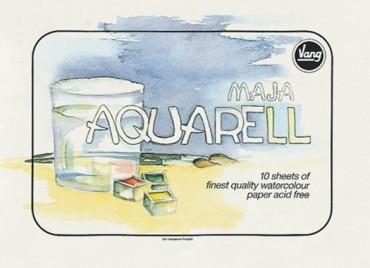 Vang Aquarellblock Maja 250 g/m2