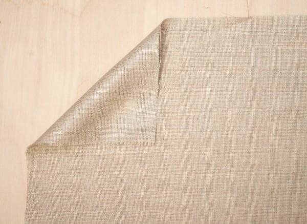 unprimed linen TOPAZIO 300 g/m², 2.15 m width, fine, No. 2413