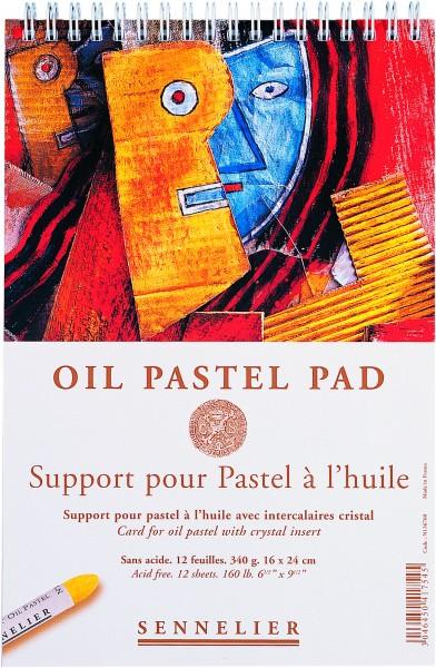 Sennelier Oil Pastel Pad 340g