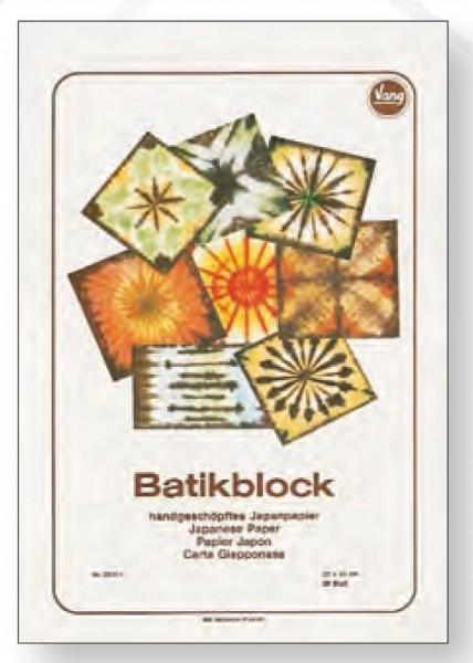 Vang Batikblock Japanpapier