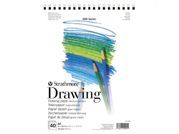 Strathmore 200 Drawing paper Block 104g