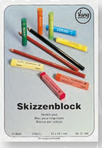 Vang Skizzenblock Rom 115g - sketch pad