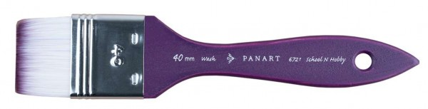PANART School and Hobby Aquarellpinsel Wash 6721