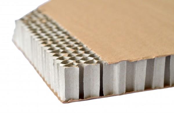 Honeycomb panel / Wabenpappe panel (weiß 10)