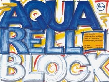 Vang Aquarellblock 300g AQ300 weiß