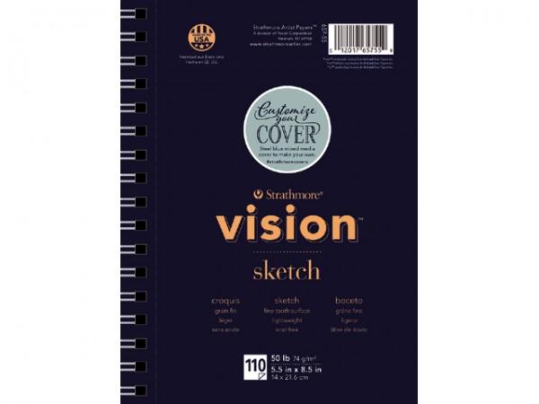 Strathmore 200 VISION Sketch Spiralblock 74g