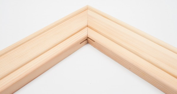 Keilrahmen Leiste K60 (2,5x6cm)