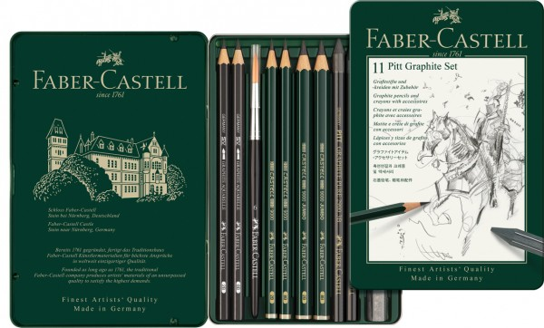 Faber-Castell Pitt Graphite Set Metalletui