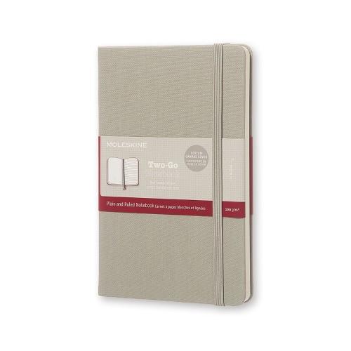 Moleskine Two-Go Notizbücher 11,5 x 18 cm MEDIUM