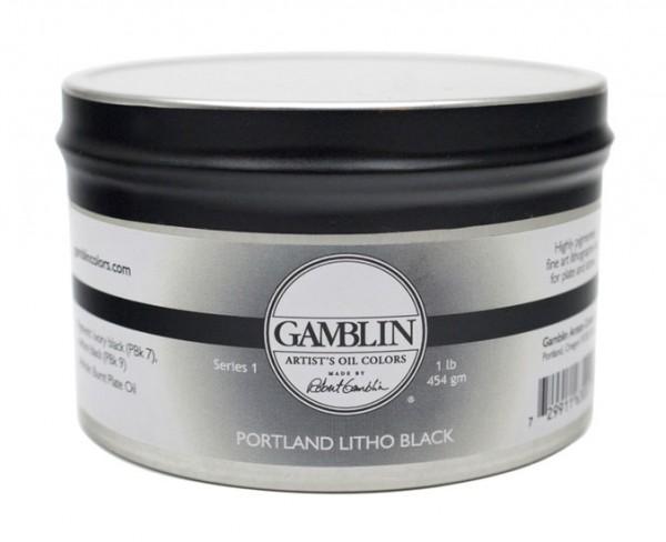 Gamblin Portland Litho Black 454g