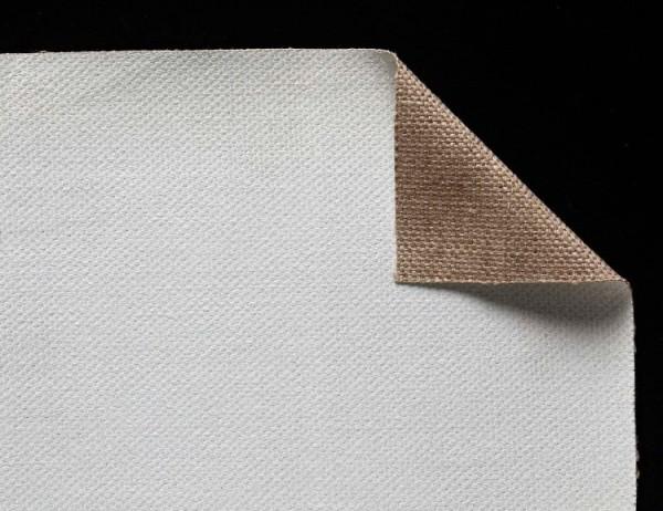 primed linen 440 g/m² white, 2.10 m width, coarse, No. 29