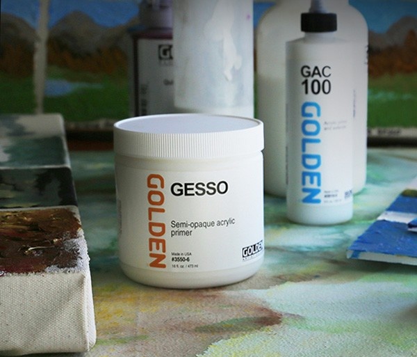 Golden Gesso White (3550) / Black(3560)