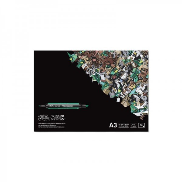 Winsor & Newton Promarker Pad Bleedproof 75g/m2