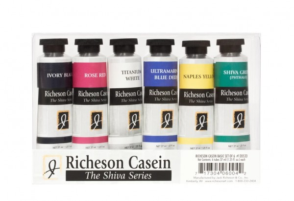 Jack Richeson Casein Paint Set of 6