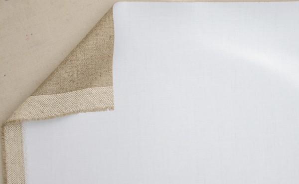 primed linen APOLLO 440 g/m² white, 1.50 m width, coarse, No.2344