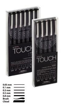 ShinHan Art Touch Liner Set Schwarz oder Grau