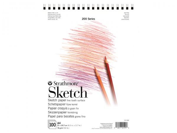 Strathmore 200 Sketch paper Block 74g