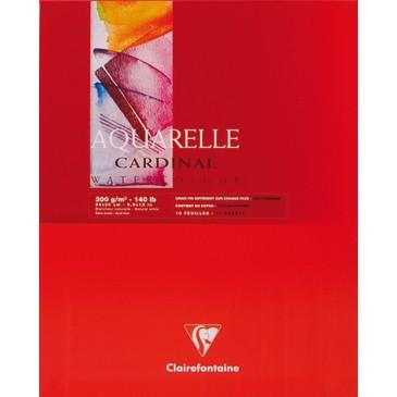 Clairefontaine Cardinal Aquarell Spiralblock