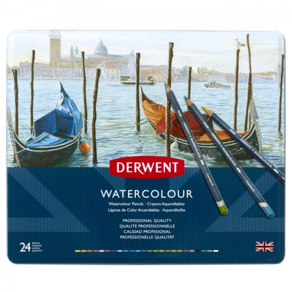Derwent Watercolour Pencils Set