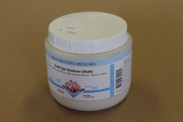 Old Holland New Masters Soft Gel Medium 500ml