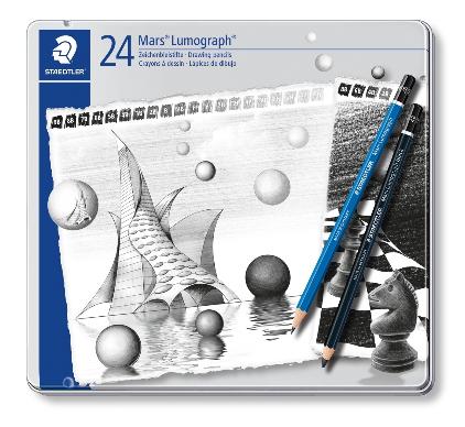 Staedtler Mars® Lumograph® 100 G, 24er Set