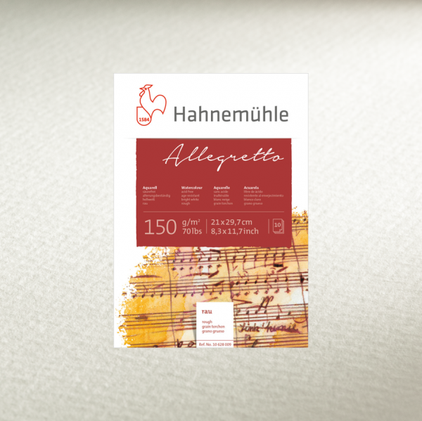 "Hahnemühle ""Allegretto"" Aquarellblock"