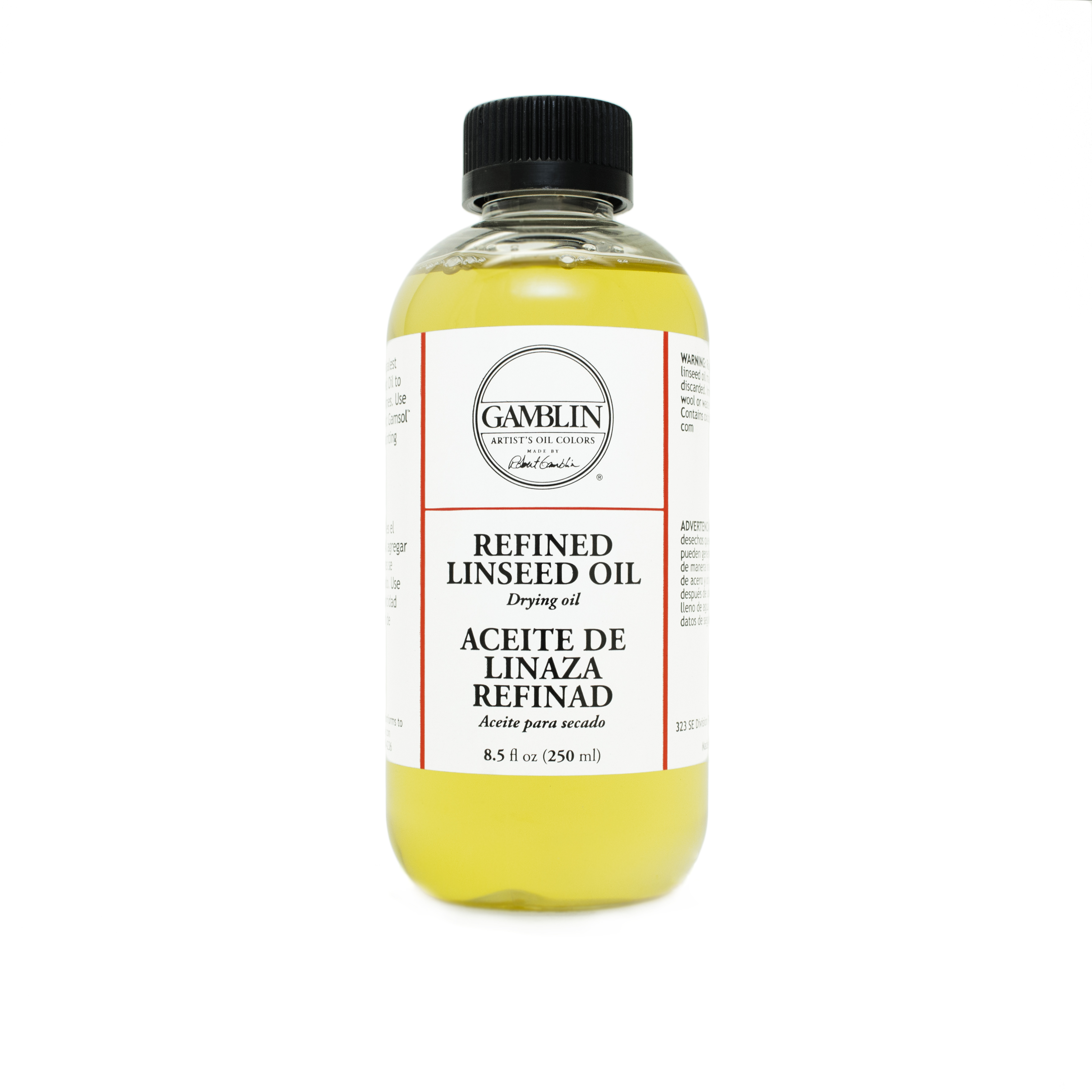 Gamblin Linseed Oil Refined Low Acid Ole Malmittel Peters