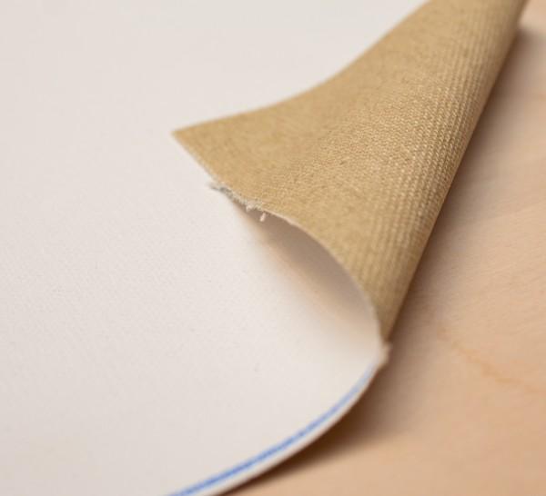 primed cotton Elio 370 g/m², 1.60 m width, medium-coarse, No. 2225