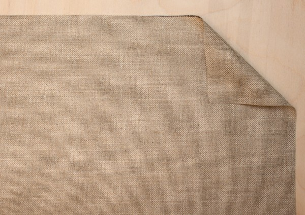 transparent primed linen 330 g/m², 2.10 m width, fine, No. 11/F