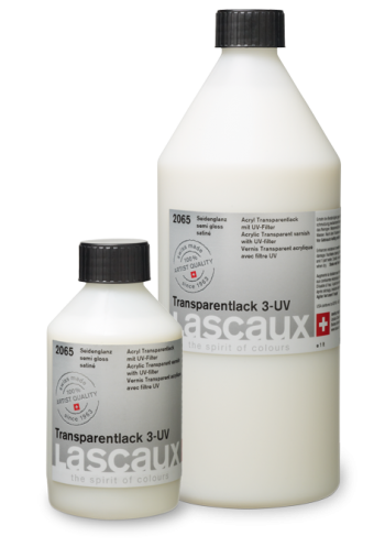 Lascaux Transparentlack 3-UV Seidenglanz (2065)