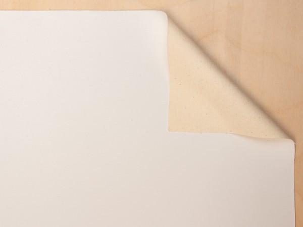 primed cotton Gaia 300 g/m², 2.10 m width, medium-fine, No. 2410