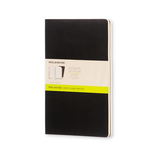 Moleskine VOLANT Collection 2er Pack Notizhefte Blanko