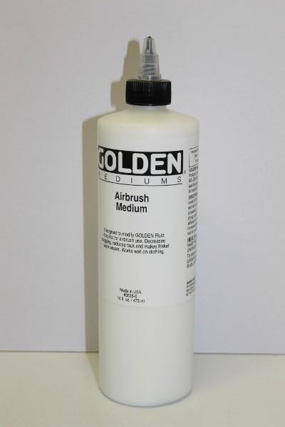 Golden Airbrush Medium