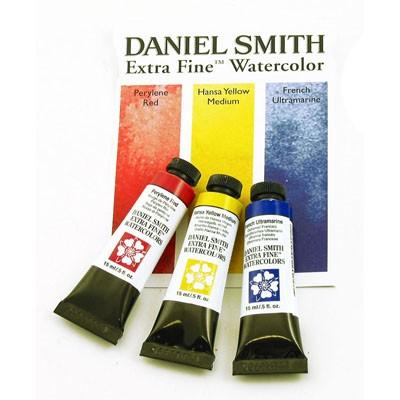 DANIEL SMITH Extra Fine Watercolor Primary 3-Set 15ml