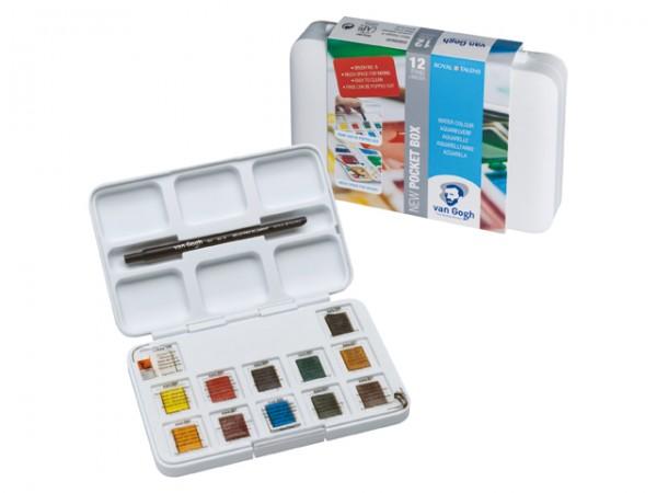 Royal Talens Van Gogh Aquarellfarbe Kombiset Pocket Box