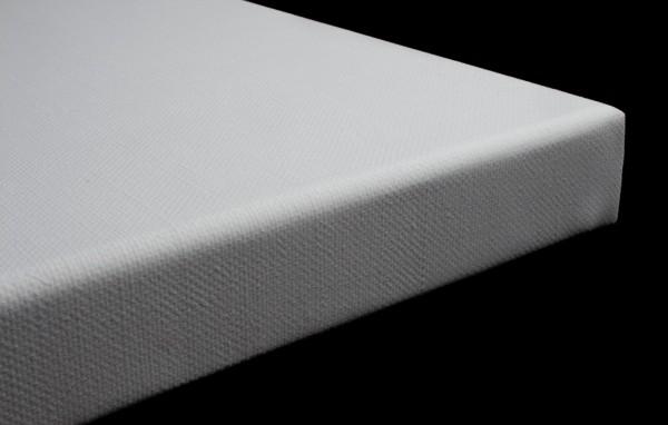 Keilrahmen Corte 3D maschinell bespannt mit Baumwolle, grundiert mit Gesso