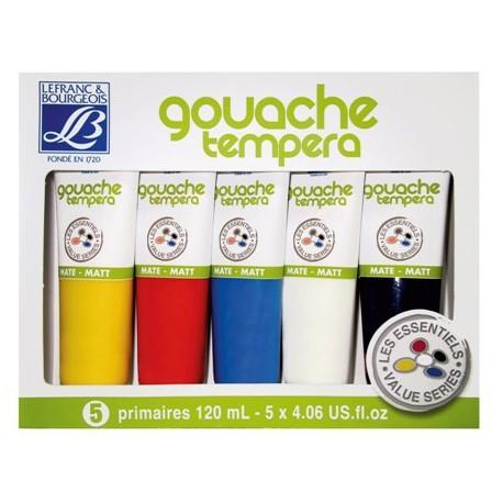 LEFRANC&BOURGEOIS Gouache Set 5x120ml