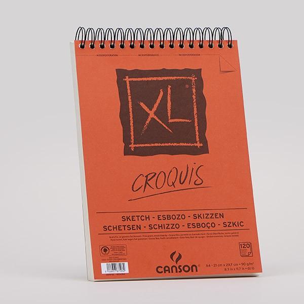 Canson (geleimter) Skizzenblock XL CROQUIS