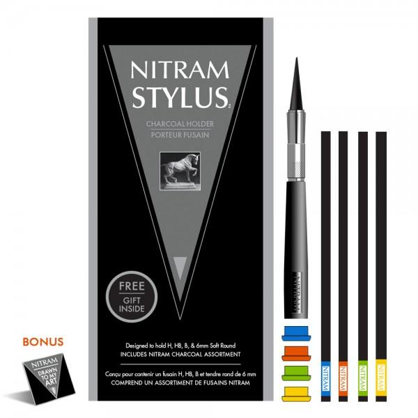 Nitram Stylus Baton Halter