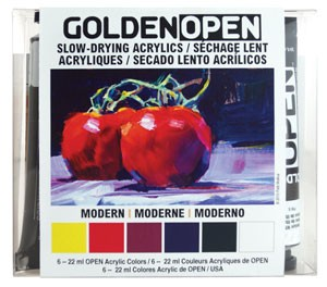 Golden Open Acrylics IntroSet Modern (044)