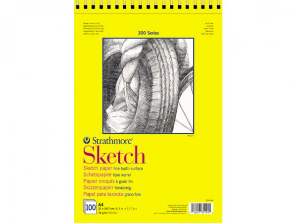 Strathmore 300 Sketch paper Block 74g