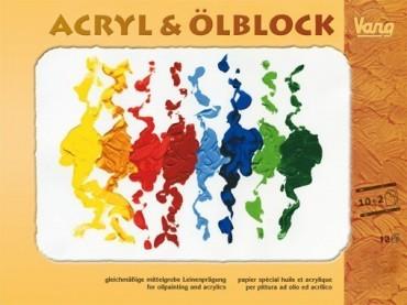 Vang Acryl & Ölblock
