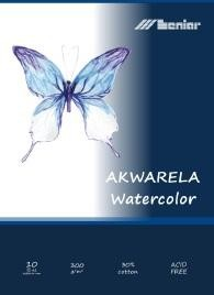 Leniar Watercolor 300g/m2 white