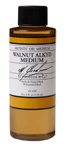 M. Graham & Co. Walnuss Alkyd Medium