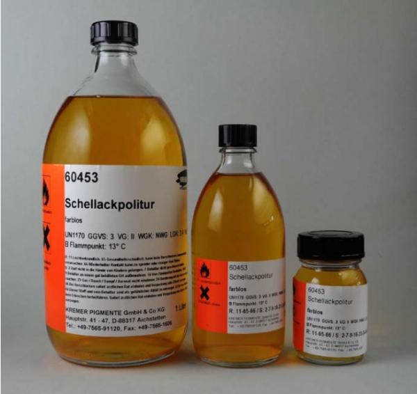 Kremer Schellackpolitur, farblos (60453)