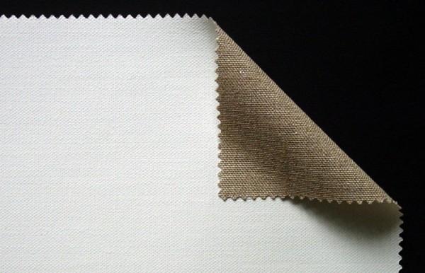 primed linen 380 g/m² white, 2.10 m width, medium- coarse, No. 18025