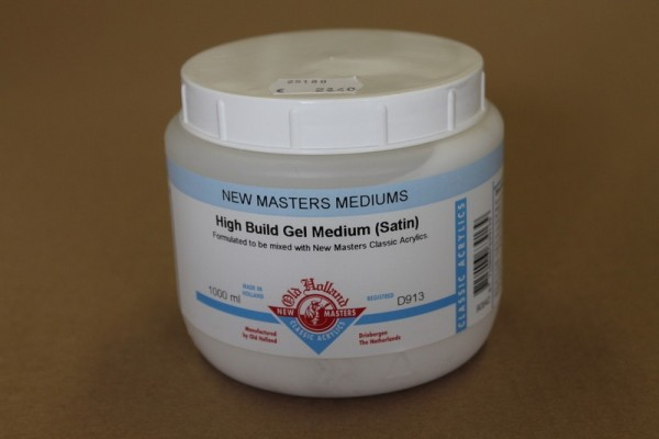 Old Holland New Masters High Build Gel Medium 500ml