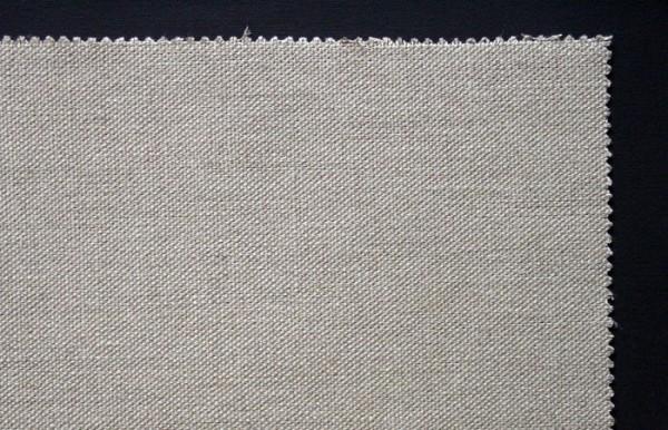 unprimed linen 380 g/m², 2.10 m width, medium- coarse, No. 18581
